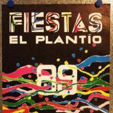 Carteles Feria: CARTEL FIESTAS EL PLANTIO, VALENCIA. AÑO 1989. ILUSTRACION ROS GARRÓ. Lote 133916138