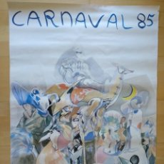 Carteles Feria: CARTEL BARCELONA CARNAVAL 1985 63 X 88 CM (APROX). Lote 139060598