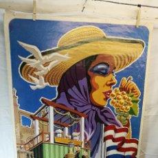 Carteles Feria: JEREZ - XXXIII-- FIESTA DE LA VENDIMIA SHERRY AUSTRIA - 1980. Lote 139465022