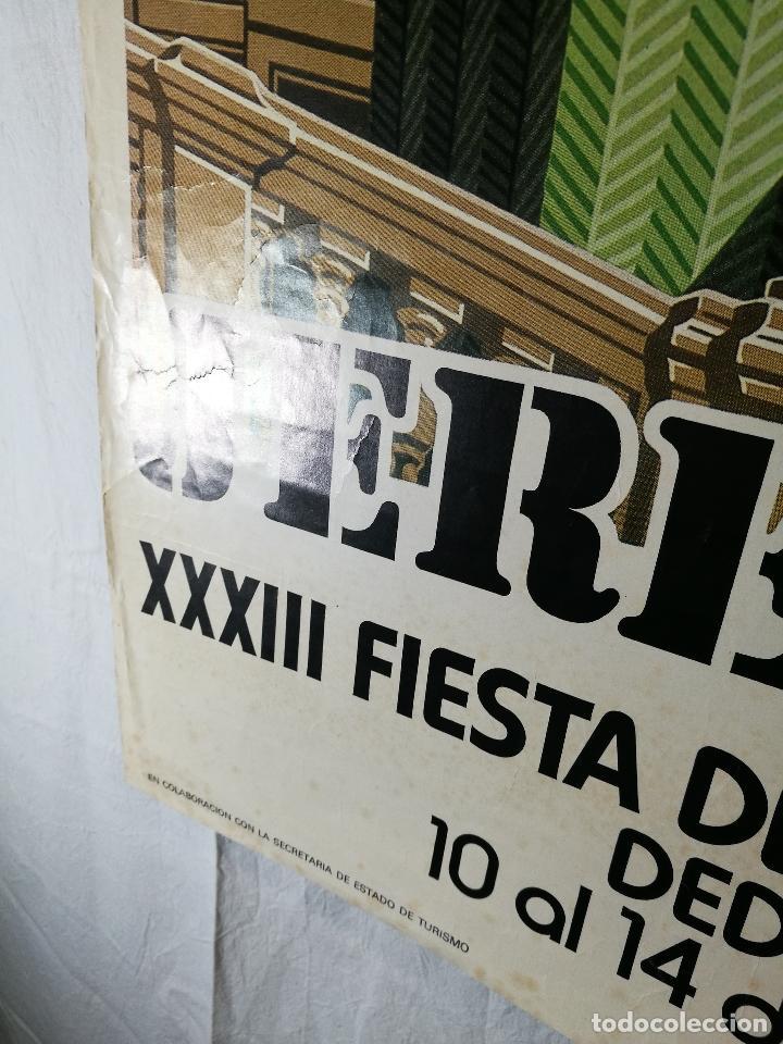 Carteles Feria: JEREZ - XXXIII-- FIESTA DE LA VENDIMIA SHERRY AUSTRIA - 1980 - Foto 10 - 139465022