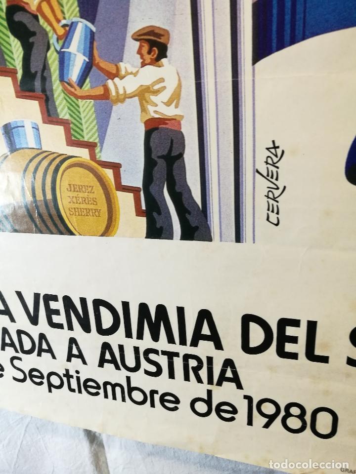 Carteles Feria: JEREZ - XXXIII-- FIESTA DE LA VENDIMIA SHERRY AUSTRIA - 1980 - Foto 11 - 139465022