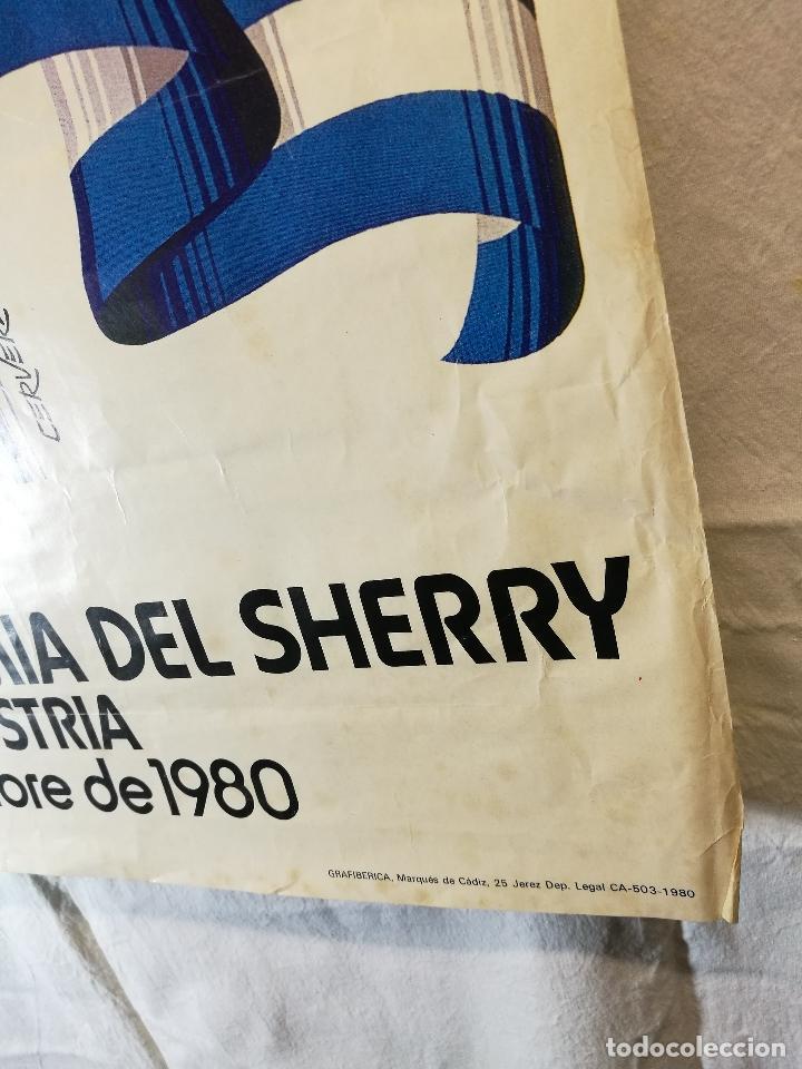 Carteles Feria: JEREZ - XXXIII-- FIESTA DE LA VENDIMIA SHERRY AUSTRIA - 1980 - Foto 12 - 139465022