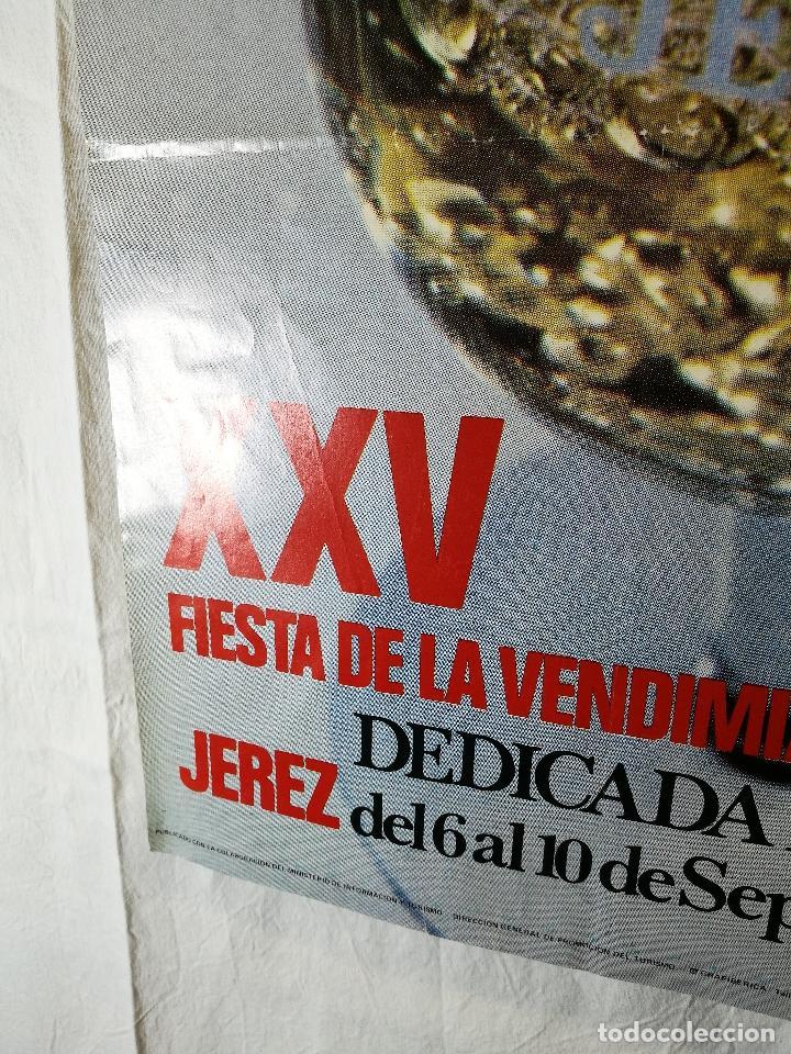 Carteles Feria: JEREZ - XXV-- FIESTA DE LA VENDIMIA SHERRY - 1972 - Foto 2 - 139465742