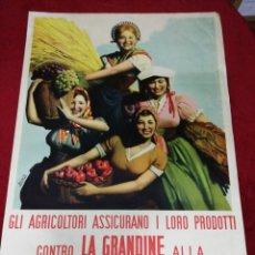 Carteles Feria: ANTIGUO CARTEL ITALIANO. AÑO 1953.. Lote 139534386