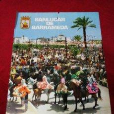 Carteles Feria: ANTIGUO CARTEL FERIA DE LA MANZANILLA. SANLUCAR DE BARRA MEDA 1973. Lote 139535478