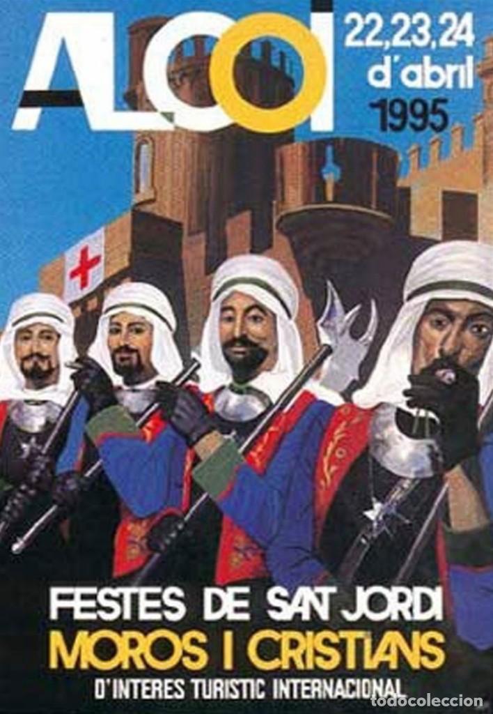 CARTEL MOROS Y CRISTIANOS 1995 ALCOY (Coleccionismo - Carteles Gran Formato - Carteles Ferias, Fiestas y Festejos)