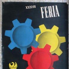 Carteles Feria: CARTEL FERIA MUESTRARIO INTERNACIONAL VALENCIA, 1959 , COMAS , ORIGINAL ,FMV. Lote 140148314