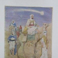 Carteles Feria: FELIZ NAVIDAD Y PRÓSPERO AÑO NUEVO 1941, CARTEL 42 X 29 CM, VER FOTOS. Lote 140745274