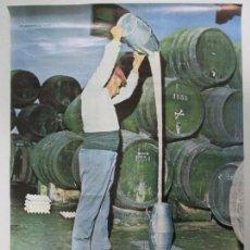 Carteles Feria: CARTEL CHICLANA DE LA FRONTERA, FERIA Y FIESTAS DE SAN ANTONIO. JUNIO 1974. ORLA JEREZ. 69 X 49 CM. Lote 141757650