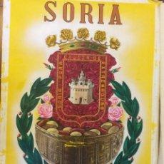 Carteles Feria: FIESTAS DE SAN JUAN, SORIA - SANZ DEL POYO (1966, ORIGINAL PINTADO A MANO). Lote 145249346