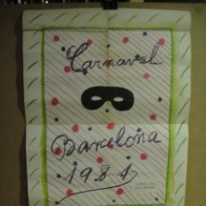 Carteles Feria: CARTEL CARNAVAL BARCELONA 1981 - MARIA GIRONA. Lote 145330942