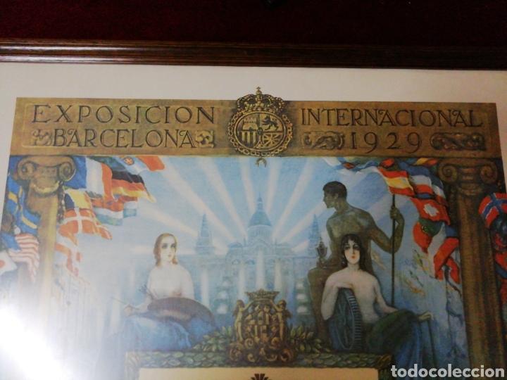 Carteles Feria: Diploma conmemorativo 50 Feria Internacional de Muestras Barcelona 1982 - Foto 2 - 146831398