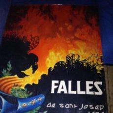 Carteles Feria: FALLES DE SAN JOSEP ,BURRIANA 1970. Lote 146904210