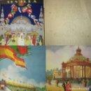 Carteles Feria: ALBUM 23 CARTELES 31X24 EXPOSICIÓN IBERO AMERICANA SEVILLA 1929-1930. Lote 113744467