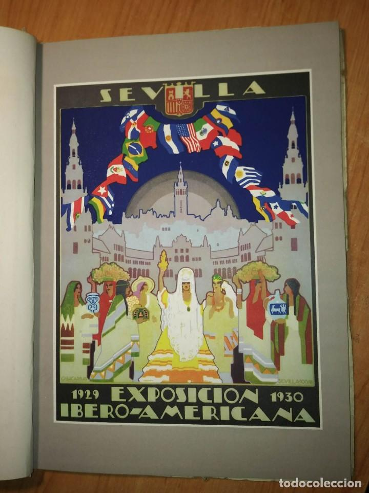 Carteles Feria: Album 23 carteles 31x24 Exposición Ibero Americana Sevilla 1929-1930 - Foto 2 - 113744467