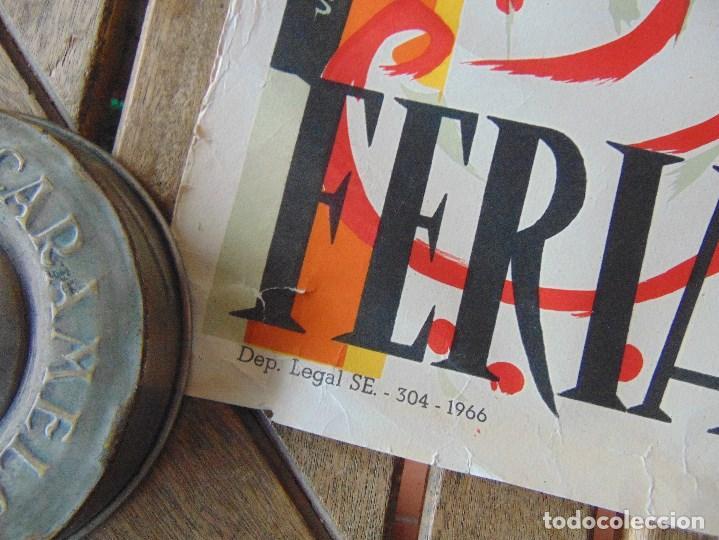 Carteles Feria: CARTEL DE LA FERIA DE SEVILLA AÑO 1967 MIDE 46 X 68 CM LEER Y MIRAR FOTOS - Foto 2 - 147177834