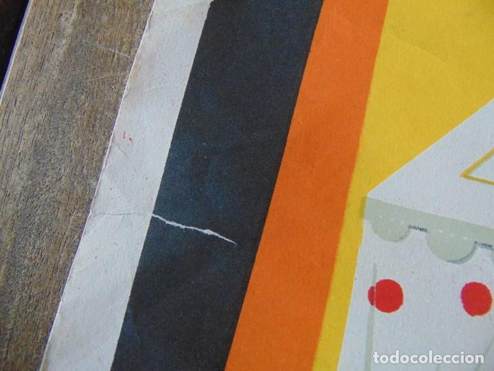 Carteles Feria: CARTEL DE LA FERIA DE SEVILLA AÑO 1967 MIDE 46 X 68 CM LEER Y MIRAR FOTOS - Foto 4 - 147177834