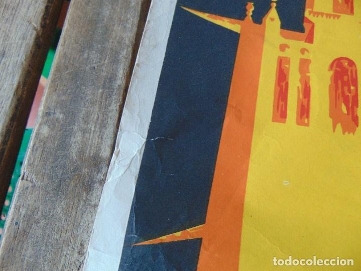 Carteles Feria: CARTEL DE LA FERIA DE SEVILLA AÑO 1967 MIDE 46 X 68 CM LEER Y MIRAR FOTOS - Foto 5 - 147177834