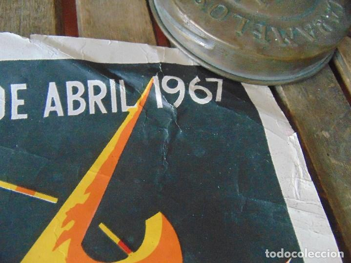 Carteles Feria: CARTEL DE LA FERIA DE SEVILLA AÑO 1967 MIDE 46 X 68 CM LEER Y MIRAR FOTOS - Foto 7 - 147177834