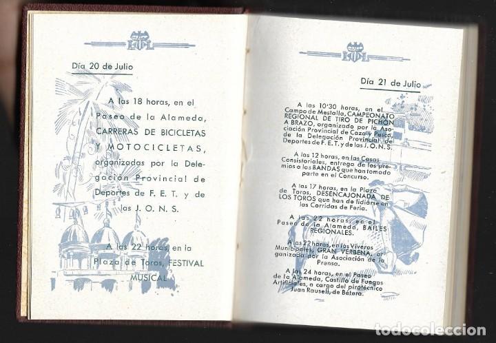 Carteles Feria: COLECCIÓN PROGRAMA FERIA DE JULIO DE VALENCIA 1940 a 1960 ENCUADERNADA 2 TOMOS - Foto 4 - 147558278