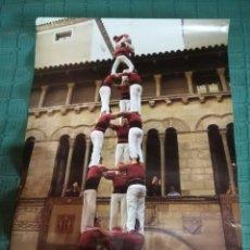 Carteles Feria: CARTEL CASTELLERS DE LLEIDA 5 - TORRE TRES DE VUIT. Lote 148583426