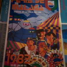Carteles Feria: FERIA DE MALAGA 1982. Lote 150069246