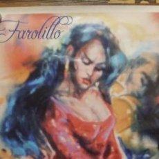 Carteles Feria: ALGECIRAS FERIA REAL JUNIO 2009 FAROLILLO. Lote 150593646