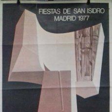 Carteles Feria: CARTEL. FIESTA DE SAN ISIDRO. 1977. MADRID.. Lote 152235446