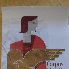 Carteles Feria: CARTEL CORPUS CHRISTI VALENCIA 2010 - 48,5 X 68 CM.- AJUNTAMENT DE VALENCIA. Lote 195527756
