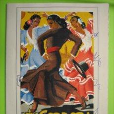 Carteles Feria: ANTIGUO CARTEL PROGRAMA DE FERIA DE CÓRDOBA 1951. Lote 156702982