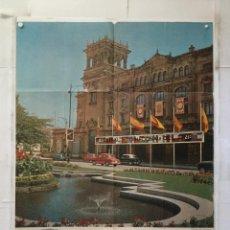 Carteles Feria: XII 12 FESTIVAL DE CINE DE SAN SEBASTIAN 1964 TAMAÑO 61X94CM HOTEL MARIA CRISTINA DONOSTI. Lote 157013122
