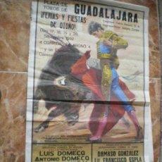 Carteles Feria: CARTEL TOROS GUADALAJARA 1992. Lote 158122834