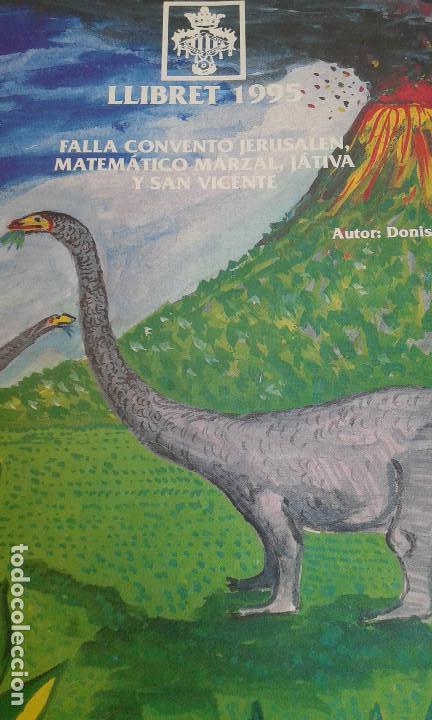 LLIBRET FALLA CONVENTO JERUSALEN-MATEMATICO MARZAL 1995 (Coleccionismo - Carteles Gran Formato - Carteles Ferias, Fiestas y Festejos)
