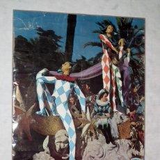 Carteles Feria: CARNAVAL DE CADIZ - CARTEL ORIGINAL AÑO 1967. Lote 162354198