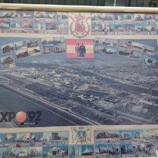 Carteles Feria: CARTEL GRAN FORMATO EXPO92. Lote 164066978