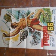 Carteles Feria: CARTELES DE CINE DE TARZAN ANTIGUOS. Lote 164669650