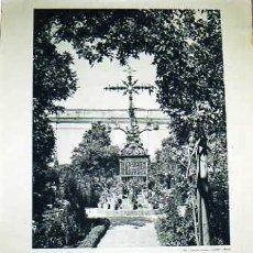 Carteles Feria: CARTEL EXPOSICIÓN IBERO AMERICANA. SEVILLA. 1929- 1930. PLAZA DE SANTA CRUZ. SEVILLA. 55 X 74 CM... Lote 165409894