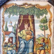 Carteles Feria: CARTEL ALGEMESI VALENCIA , 1947 , VII CENTENARIO MARE DE DEU DE LA SALUD , BARO , ORIGINAL. Lote 166149998
