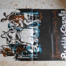 Affissi Fiera: CARTELES DE CANTE JONDO DE PUEBLA DE CAZALLA AÑOS 1973-76. Lote 167048240