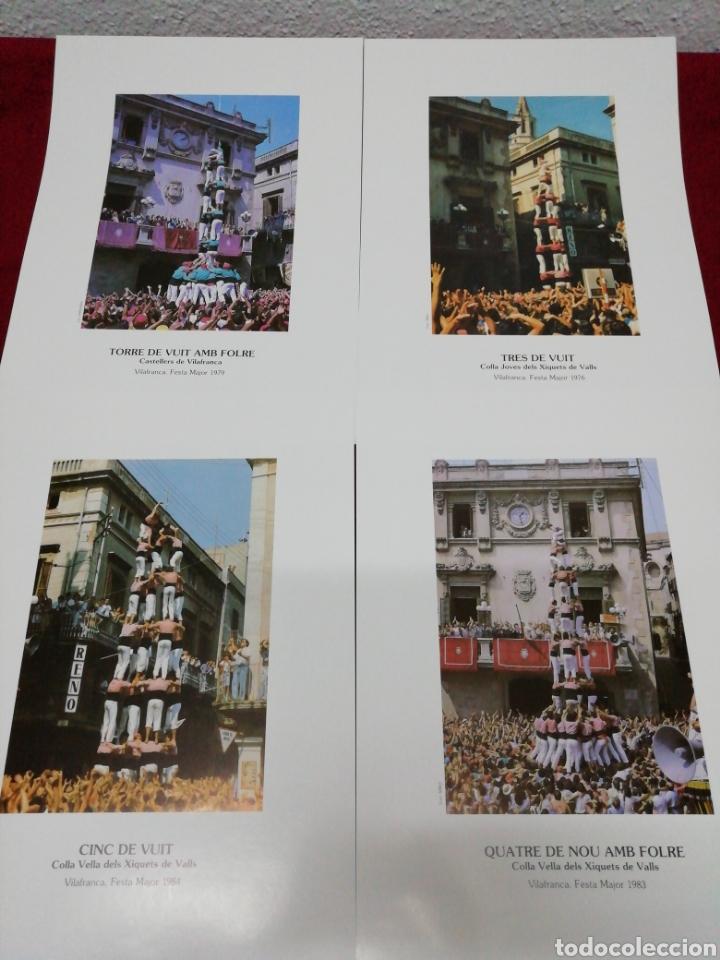 Carteles Feria: Vilafranca 125 anys de Castelles. Festa Major 87. Folleto explicativo y 20 láminas. - Foto 6 - 168547112