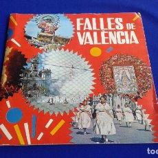Carteles Feria: FALLAS DE VALENCIA- 1970 LIBRO CON VINILO. Lote 168748868