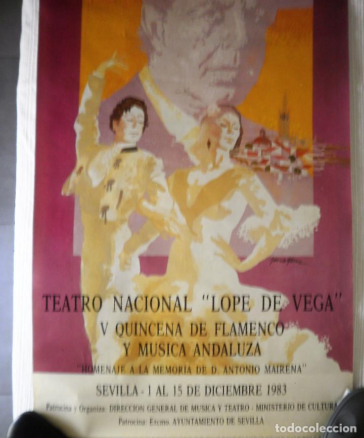 CARTEL FLAMENCO (Coleccionismo - Carteles Gran Formato - Carteles Ferias, Fiestas y Festejos)