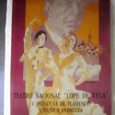 Carteles Feria: CARTEL FLAMENCO. Lote 170449560