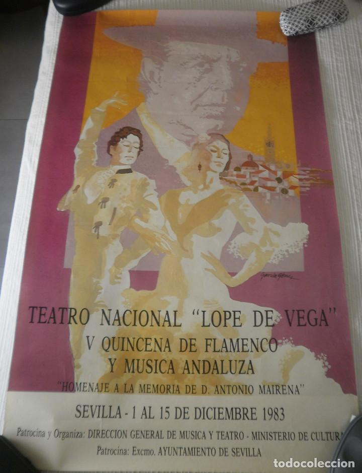 Carteles Feria: Cartel Flamenco - Foto 2 - 170449560