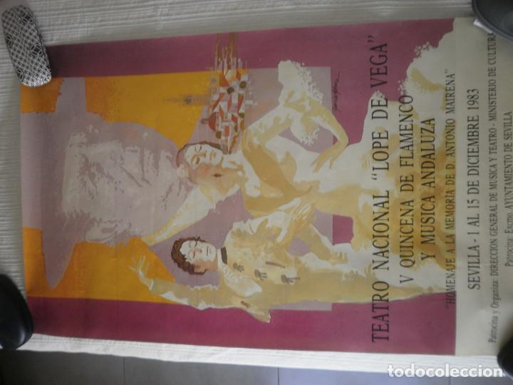 Carteles Feria: Cartel Flamenco - Foto 3 - 170449560