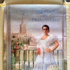 Carteles Feria: CARTEL DE LAS FIESTAS DE PRIMAVERA DE SEVILLA, 1997. Lote 170516186