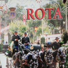 Carteles Feria: CARTEL. ROTA. FERIA DE PRIMAVERA. 1999. MEDIDAS: 60.5 X 49.5 CM. APROX.. Lote 171365608