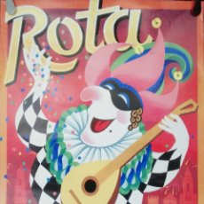 Carteles Feria: CARTEL. ROTA. CARNAVAL 2004. MEDIDAS: 70 X 40 CM. APROX.. Lote 171367052