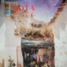 Carteles Feria: CARTEL. ROTA. FERIA DE PRIMAVERA. 1995. MEDIDAS: 62.5 X 49 CM. APROX.. Lote 171367725