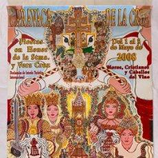 Carteles Feria: CARTEL POSTER FIESTAS DE MAYO CARAVACA DE LA CRUZ ( MURCIA ) AÑO 2008. Lote 171655452